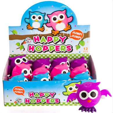 PARTY FAVOURS - HOPPING OWL WIND UPS