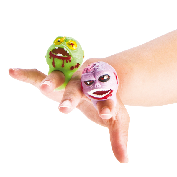 PARTY FAVOURS - SQUISHY ZOMBIE RING