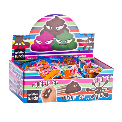 PARTY FAVOURS - SPLATTER BALL TURDS
