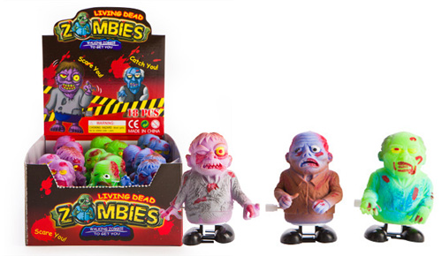 PARTY FAVOURS - WIND UP LIVING DEAD ZOMBIES