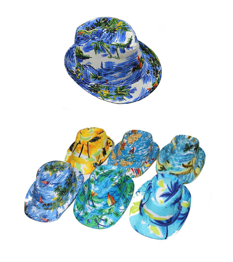 HAWAIIAN FEDORA HAT