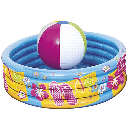 INFLATABLE DRINK COOLER - BEACH BALL POOL
