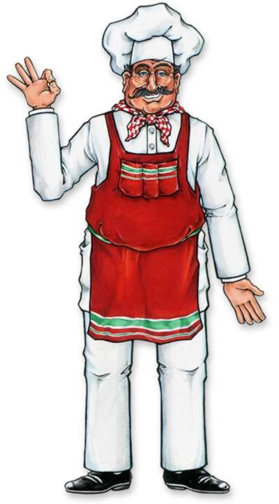 ITALIAN CHEF JOINTED FIGURE 94CM
