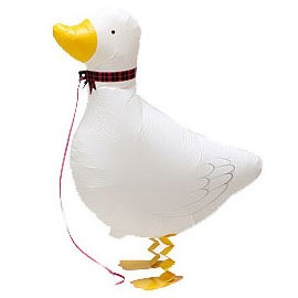 WALKING PET BALLOON - ANNA THE DUCK 55CM