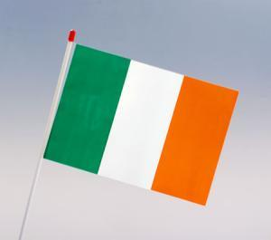 IRISH FLAG - HAND HELD - PACK OF 10