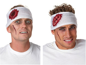 GORY WOUND HEAD BANDAGES