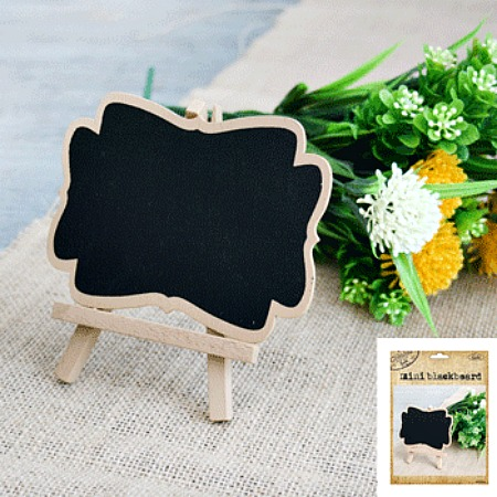 NATURAL KRAFT MINI CHALKBOARD
