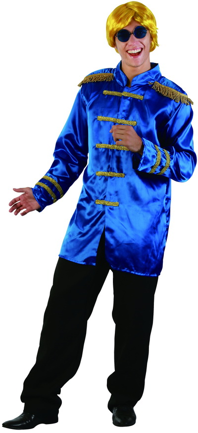 SARGENT PEPPERS/ ROCK STAR MILTARY STYLE BLUE JACKET