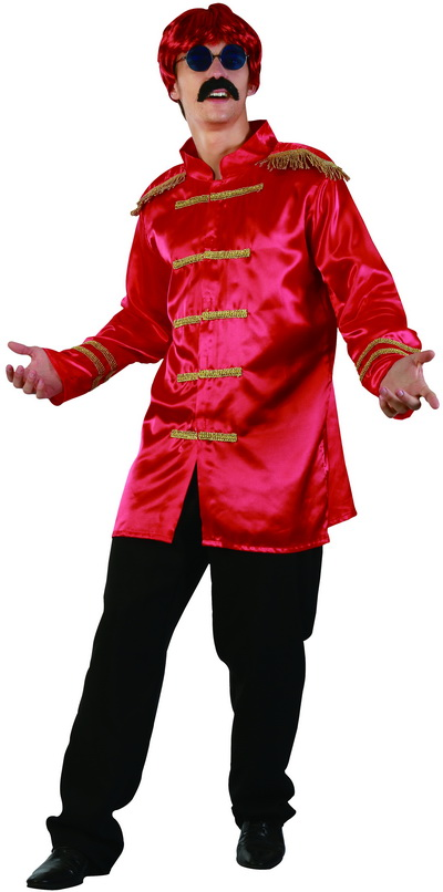SARGENT PEPPERS/ ROCK STAR MILTARY STYLE RED JACKET