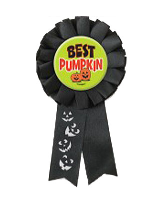 Image of Award Ribbon  Best Pumpkin