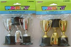 MELBOURNE CUP TROPHY AWARD - PACK OF 3