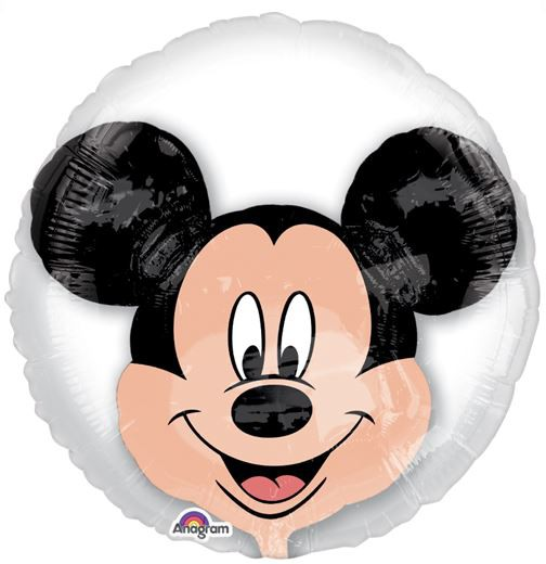 DOUBLE BUBBLE INSIDER BALLOON - MICKEY MOUSE - HUGE 60CM