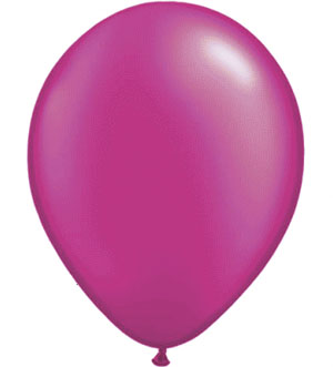 BALLOONS LATEX - MAGENTA PROFESSIONAL PACK 15