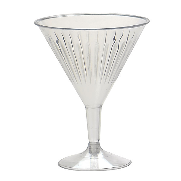 GOURMET COCKTAIL MARTINI GLASSES - PACK 10