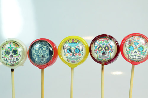 PRINTA POPS MEXICAN SKULLS - PACK OF 5