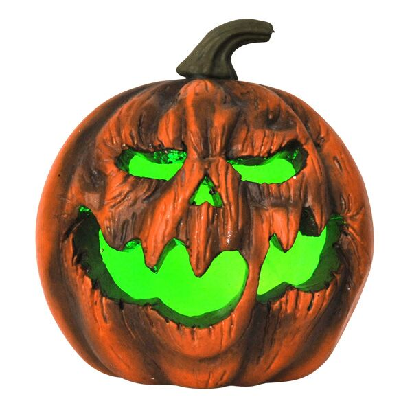 Halloween deluxe light up pumpkin lantern