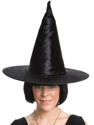 BLACK WITCH'S HAT- sorry sold out