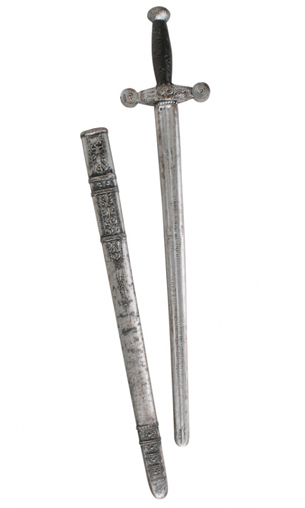 KNIGHTS SWORD WITH SHEATH