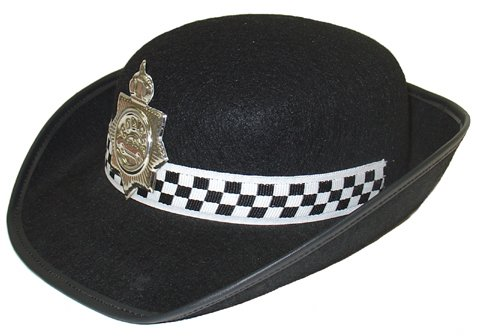 Image of Police Type Hat  Female