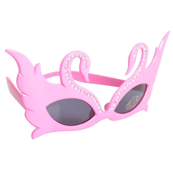 Image of Swan Glasses  Pink