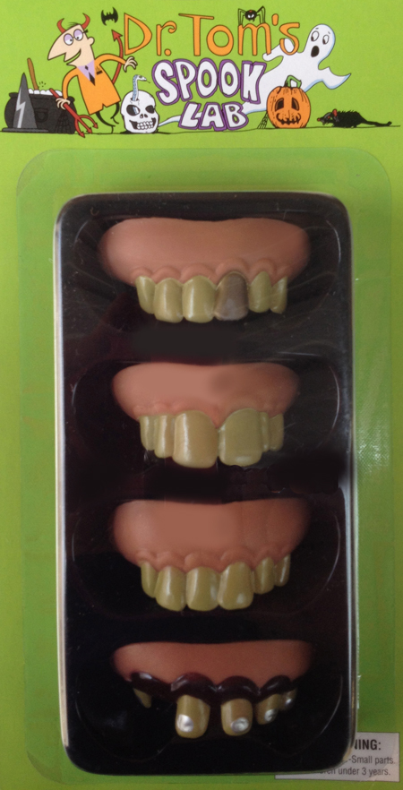 Image of Spooky Teeth Set Of 4