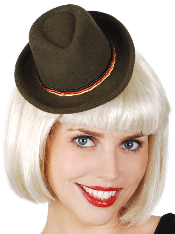 OKTOBERFEST MINI TRADITIONAL HAT WITH HAIRCLIP