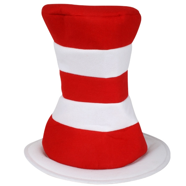 CAT IN THE HAT PLUSH TOP HAT