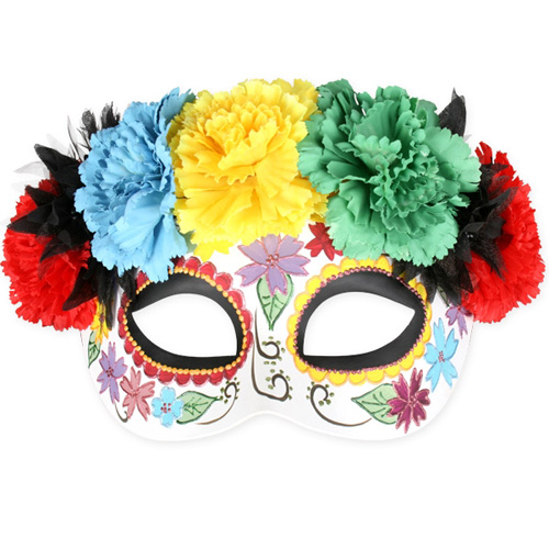 MASK - FRIDA BRIGHT FLOWERS EYE MASK