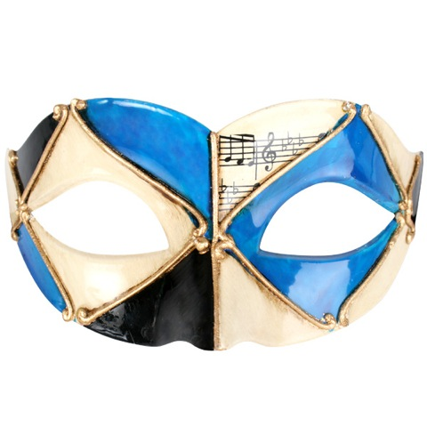 MASK - PIETRO BLUE & BLACK EYE MASK