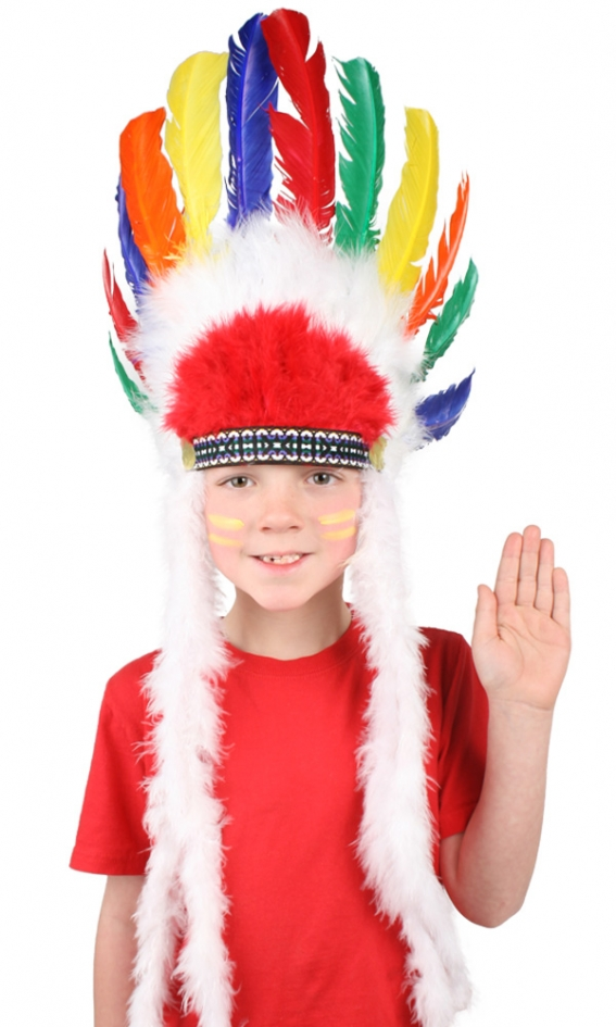 INDIAN HEADDRESS - CHILD