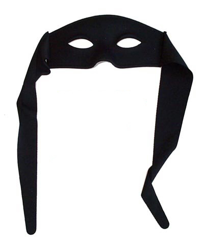 MASK - ZORRO LARGE WITH TIES