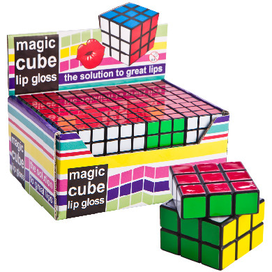 PARTY FAVOURS - MAGIC CUBE LIP GLOSS