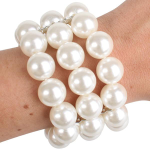 1920'S PEARL BEADED BRACELET