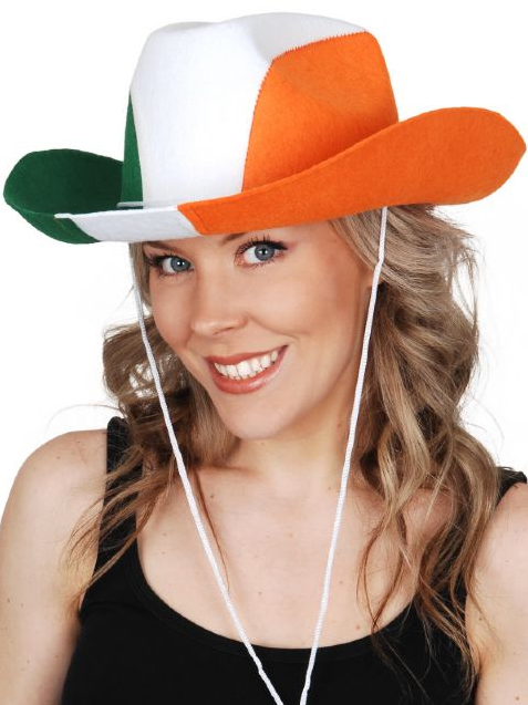ST PATRICKS DAY COWBOY HAT