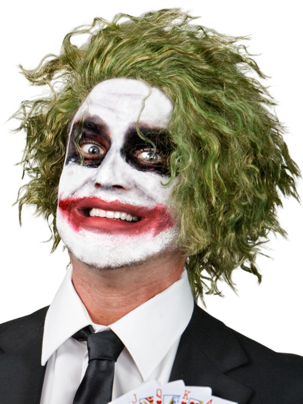 GREEN KNIGHT JOKER WIG