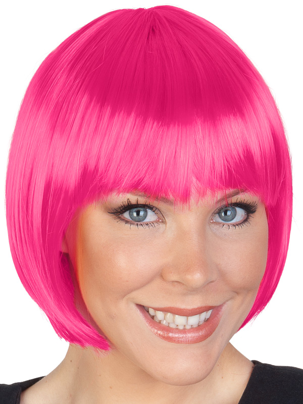 HOT PINK PAIGE BOB WIG