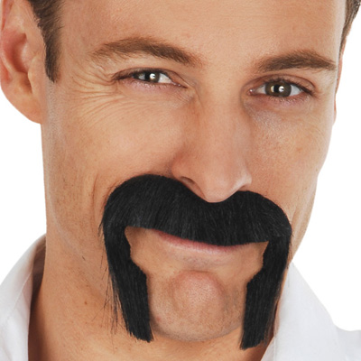 MOUSTACHE - BLACK JOHNSON HANDLEBAR MO