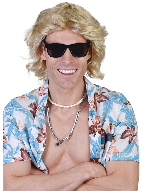 MICK THE SURFER BLONDE WIG
