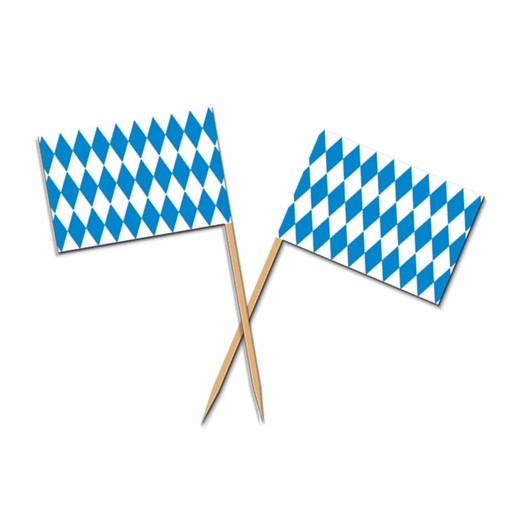 OKTOBERFEST TOOTH PICKS PACK 50