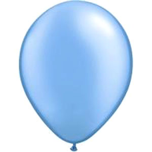 BALLOONS LATEX - AZURE PROFESSIONAL PACK OF 15