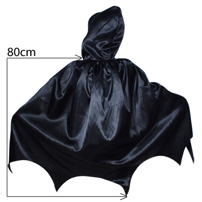 CHILD\'S HOODED BAT CAPE