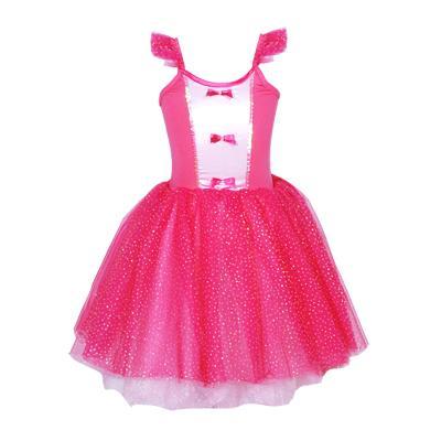 girls fairytale princess dress - hot pink
