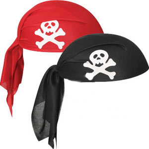 PIRATE HAT - SKULL CAP