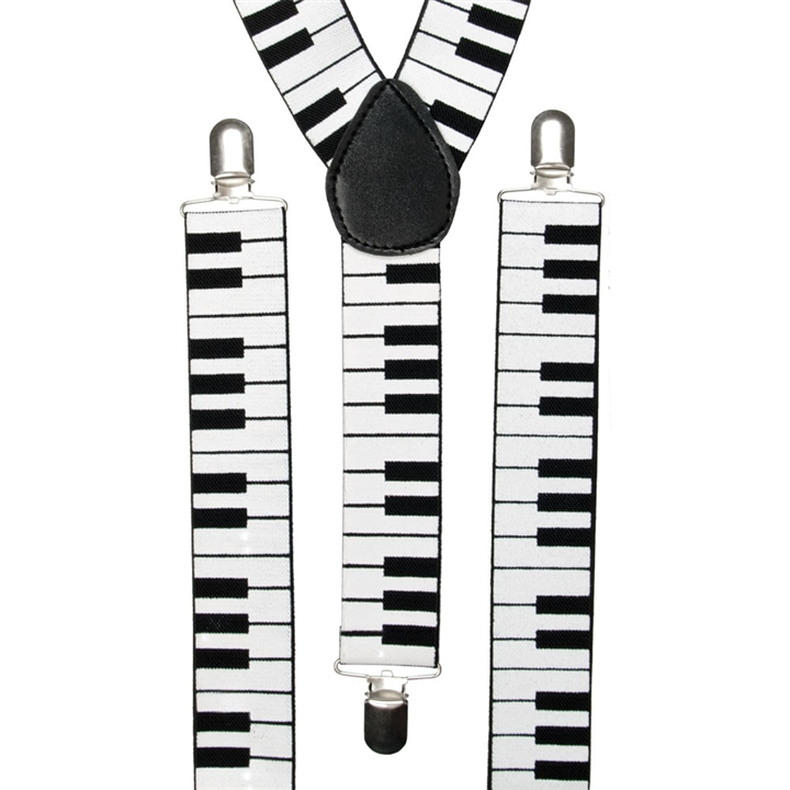 BRACES/SUSPENDERS - PIANO KEYBOARD