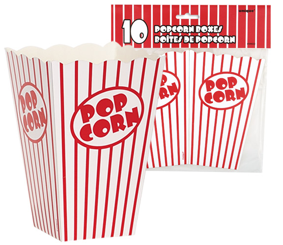 POPCORN BOXES MEDIUM - PACK 10