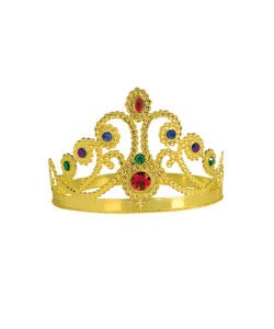 CROWN - QUEENS GOLD WITH JEWELS
