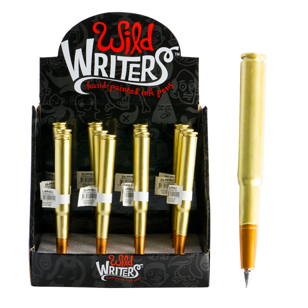 PARTY FAVOURS - WILD WRITER BULLET PENS