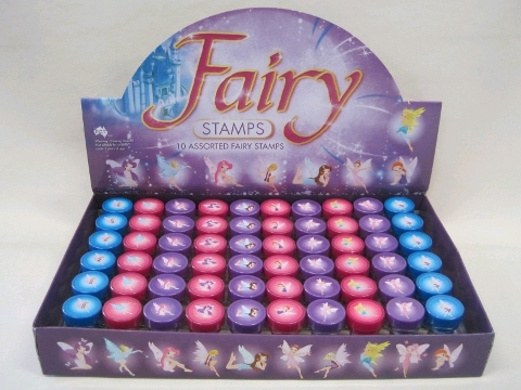 PARTY FAVOURS - STAMPERS FAIRY THEME PACK OF 6
