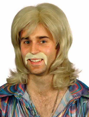 COOL 70'S GUY BLONDE WIG