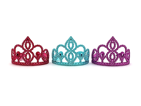 TIARA - BEAUTY PAGEANT - ASSORTED COLOURS